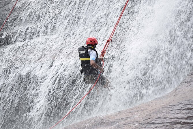 Waterfall Abseiling from Ella