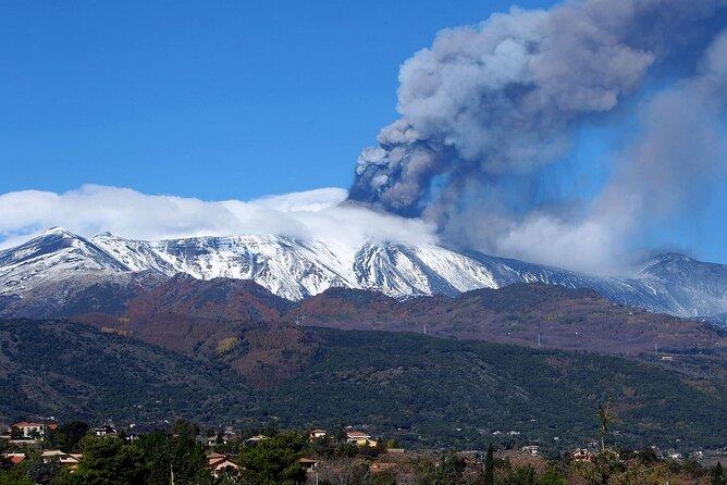 Mount Etna and Etna Wine Tasting private tour from Giardini Naxos