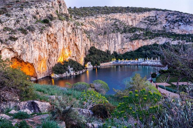 Swimming Experience in Vouliagmeni with Sounion Sunset Tour