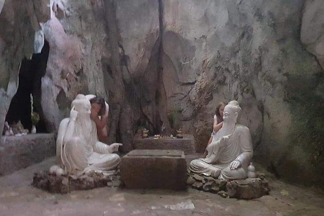 Explore Da Nang City with Marble Mountain - Lady Buddha Statue - Dragon Bridge