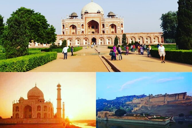 3 - Day Private Golden Triangle Tour : Delhi, Agra,and Jaipur