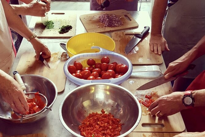 Sicilian Cooking Class with Wine tasting tour from Giardini Naxos