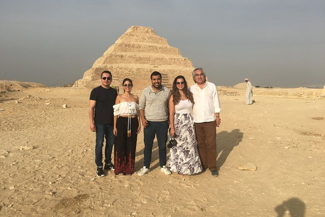 Extraordinary Pyramids,Memphis-Sakkara tour;Solo/Group