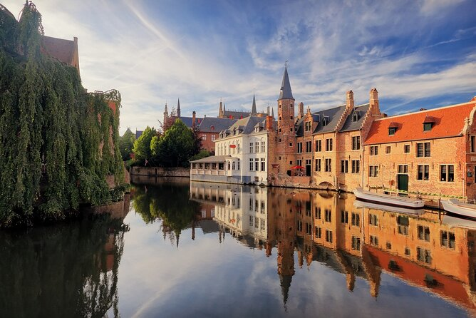 Explore Bruges UNESCO heritage city on a private tour with scenic boat ride