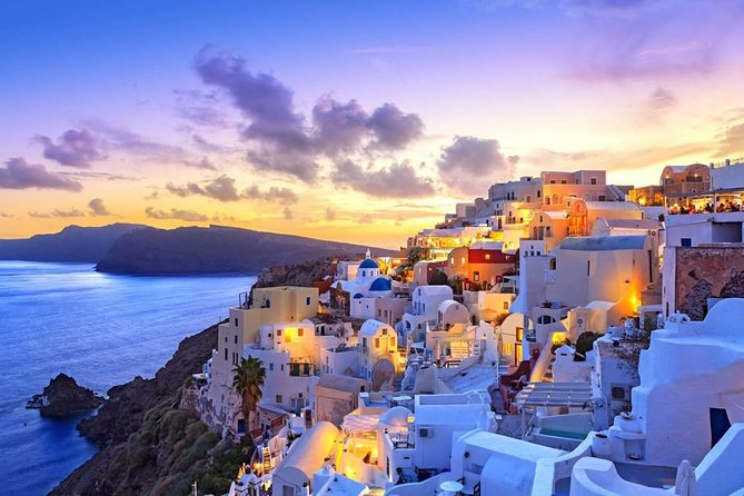 Santorini organized sightseeing tours