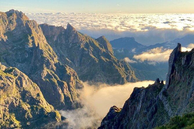 Caminhada matinal do Pico do Arieiro ao Pico Ruivo - por transferências do Pico
