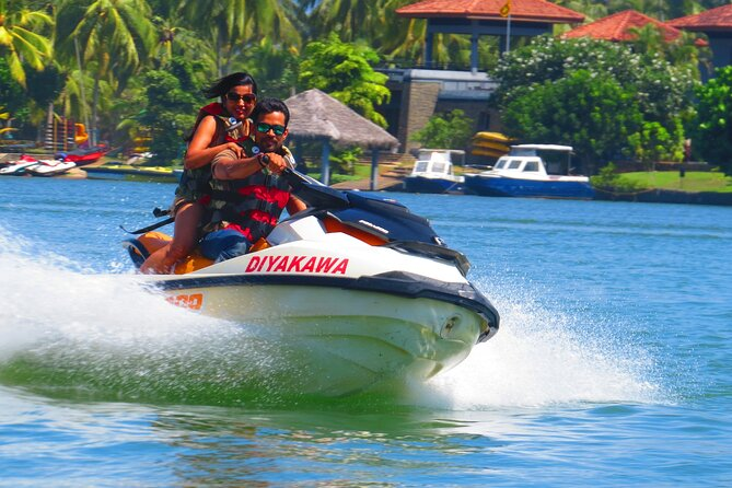 Water Sports at Bentota-Jet Skiing/Water Tubbing/Banana Boat Ride/River Curise