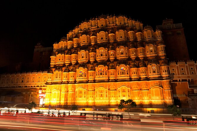 Private Guided Night Tour of Jaipur