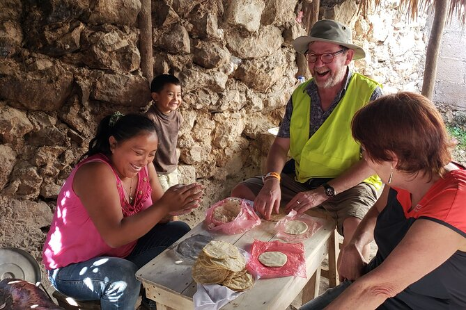 Go Maya by bike in Valladolid (Local market-Cenotes-Mayan Family)