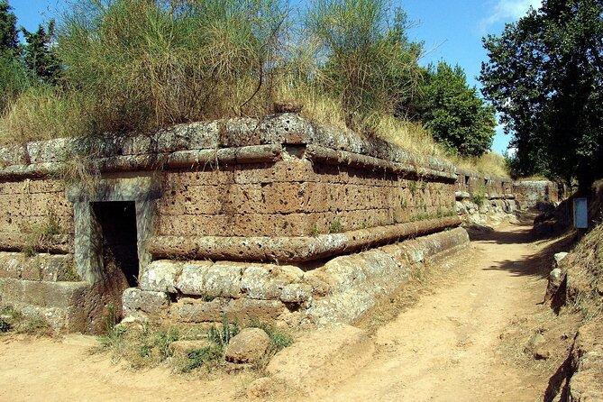 Shore Excursion to Cerveteri Necropolis and Lake Bracciano