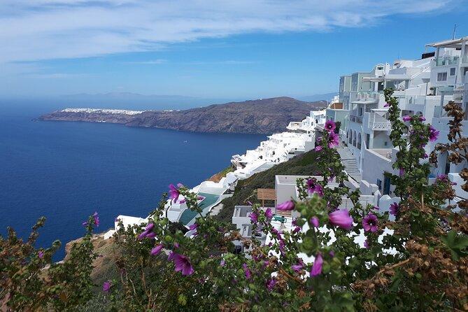 Santorini Highlights& Wine Tasting Private Tour