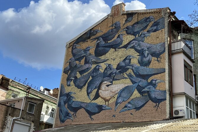 Private Street Art Walking Tour with Local Guide - Best of Kyiv Murals