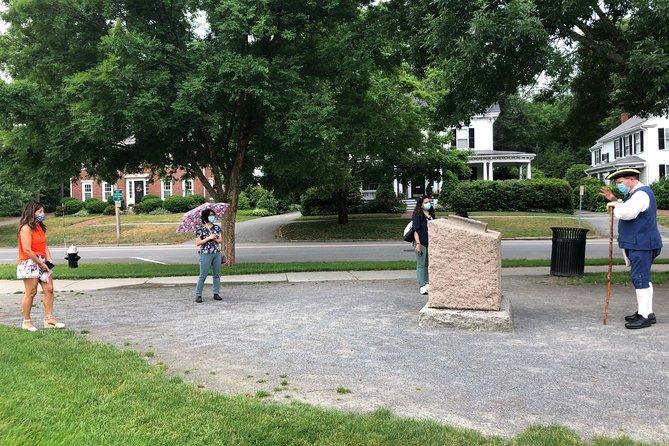 Lexington Battle Green Tour