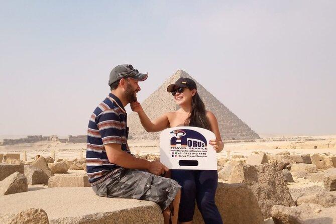 2 Full days Tour Packe (Pyramids,Sakkara,Memphis and Alexandria City)
