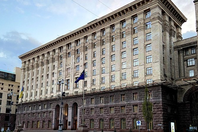 Soviet History and Architecture of Kyiv Private Driving Tour