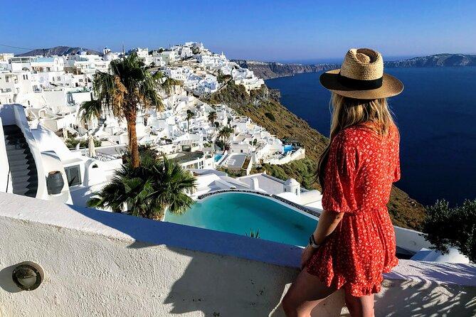 Half Day Santorini Highlights Trip & Wine Tasting