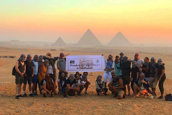 Amazing Sunrise / Sunset Camel Ride With Snacks Around Giza Pyramids