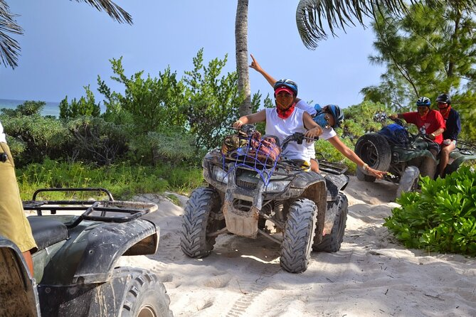 DRIVE an ATV in the MAYAN JUNGLE. Includes Equipment and Transportation