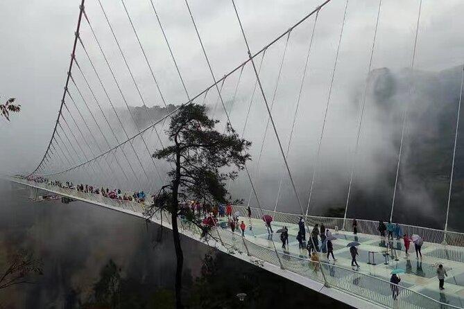 1-day Zhangjiajie Grand Canyon Glass Bridge Tour