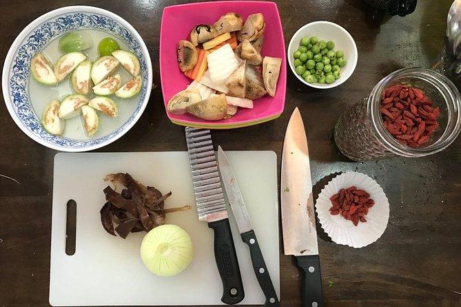 Vegan Thai Cooking Class and Organic Garden Tour in Koh Samui