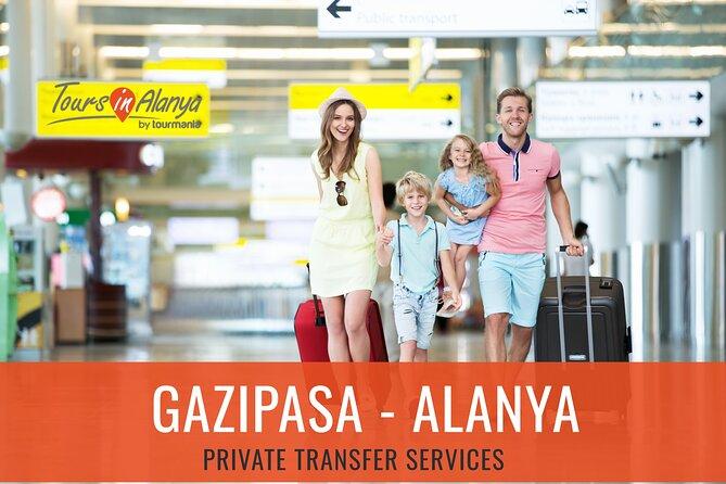 Gazipasa Airport to Alanya Resorts Private Transfer