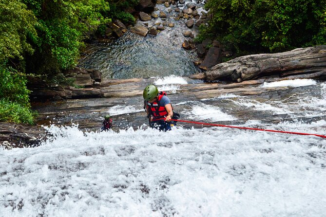 Canyoning and Abseiling Combined Adventure Package from Kitulgala