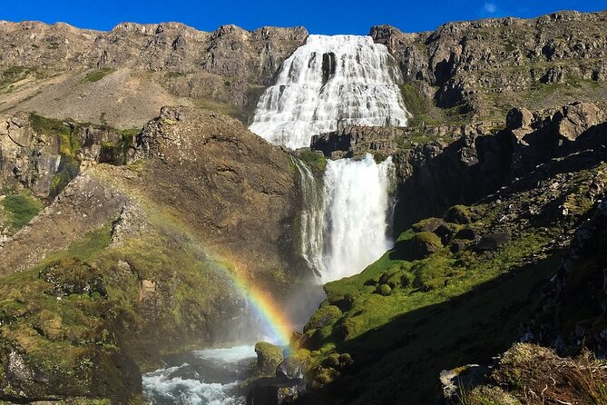 Experience Westfjords and Dynjandi waterfall on a private tour from Isafjordur