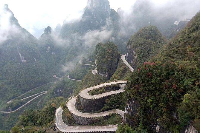1-day Zhangjiajie Tianmen Mountain Tour with Tianmen Cave