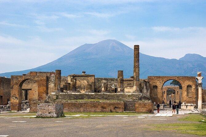 Explore Pompeii and Mount Vesuvius on a private full-day tour