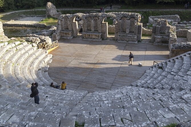 From Saranda to Butrint and Ksamil in a half-day tour