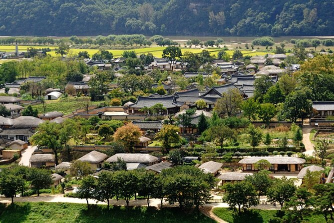 Andong Hahoe folk village Private Full Day Tour with Buyongdae Cliff