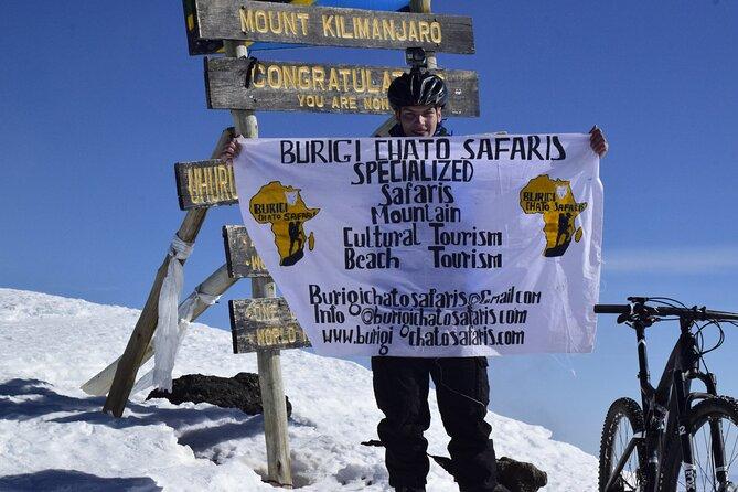 5-Days Kilimanjaro Bike TREK Via Marangu Route with BURIGI CHATO SAFARIS CO LTD