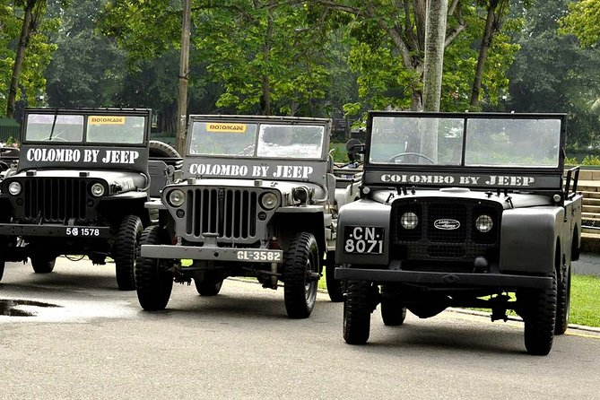 Colombo City Tour by Vietnam War Jeep from Colombo Port