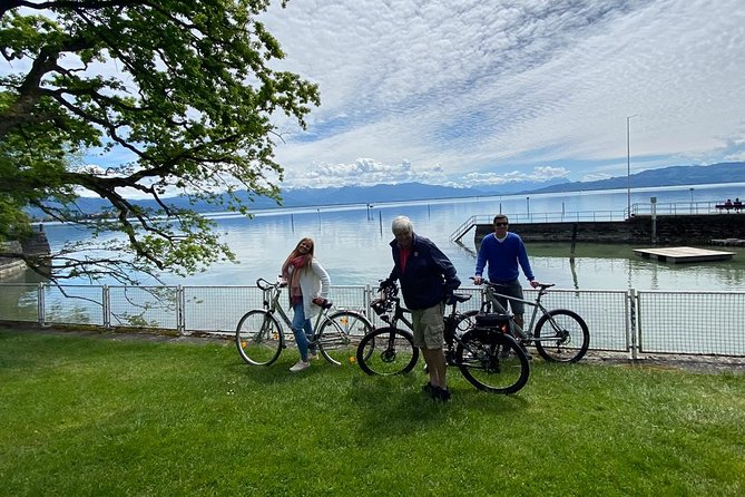 3 countries bike tour including ferry to Switzerland, floating stage and cable car ride Pfänder