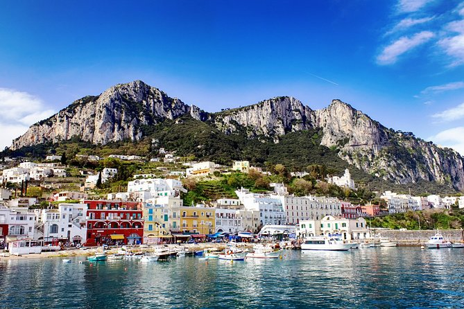 Capri & Blue Grotto Private Tour with Local Guide with Pick Up at Capri Hotel
