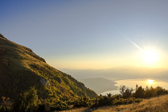 Hiking to Magaro peak from Ohrid