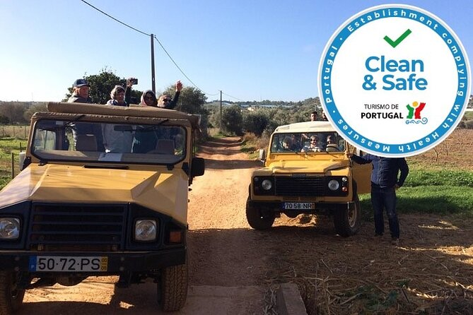 Algarve Jeep Safari - Half Day Trip Morning
