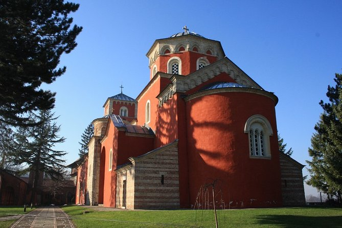 Zica and Studenica Monasteries Private Day Tour from Belgrade