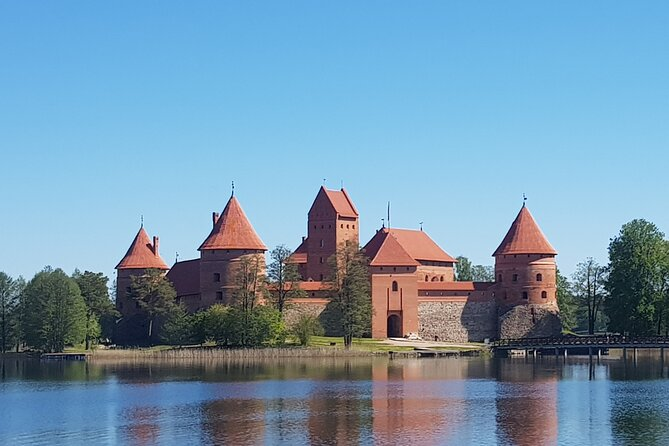 Full day Self-Guided trip to Trakai - bicycle rent for 24 h. and train tickets