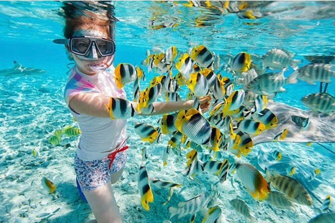 PROMO Full-Day Tour Combination Snorkeling At Blue Lagoon And Bali Hidden Canyon