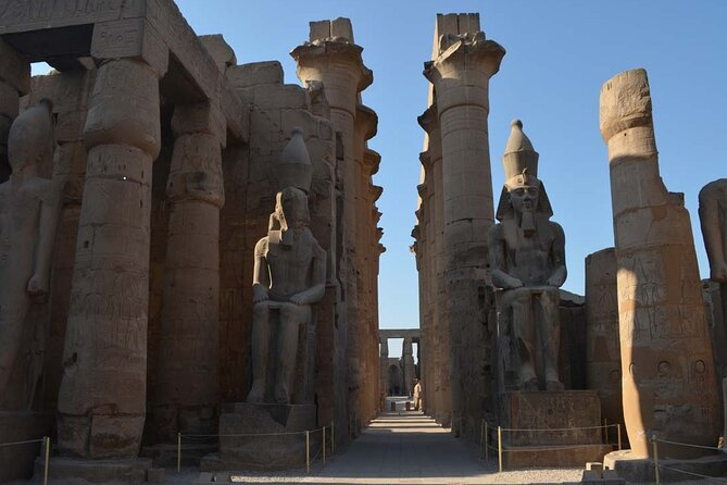 from cairo to Luxor by train to visit west, east banks of luxor and balloon