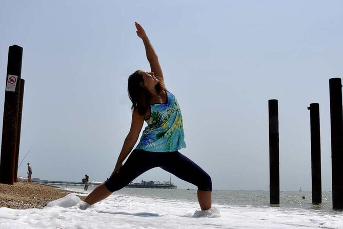 Outdoor Yoga Class at Hove Lawns Beach