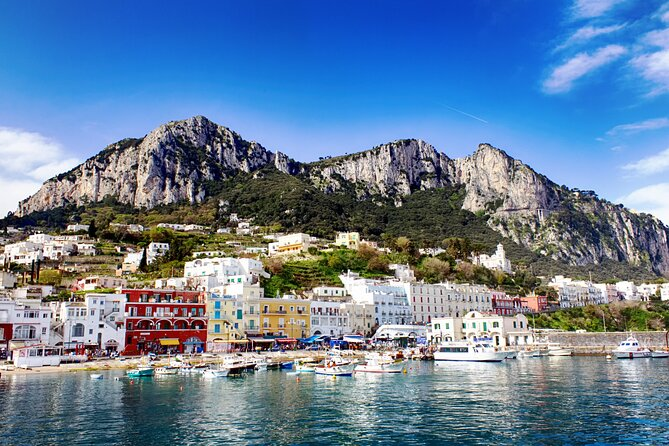 Capri from Rome: All-inclusive Full-Day Trip with Boat Tour to Blue Grotto