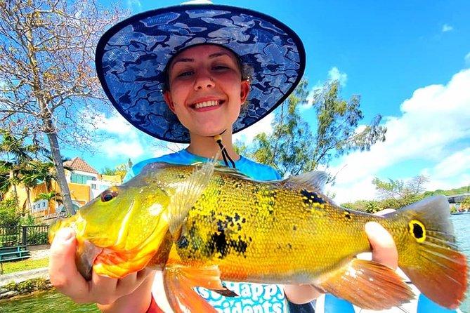Peacock Bass Fishing Trip near Biscayne Bay