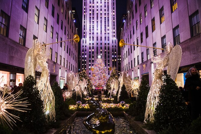 Ways to Celebrate Christmas and New Year's Eve in New York City