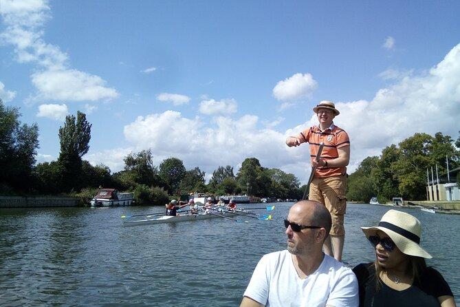Oxford River Cruise + Walking Tour to Iffley village