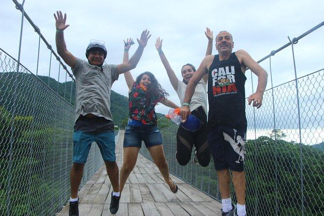Jorullo Suspension Bridge RZR Experience