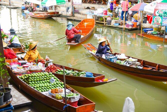 Visiting Bangkok's Floating Markets