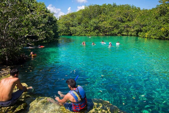 CONNECT with NATURE at Cenote Yalku with Transport, Entrance & Bilingual Guide