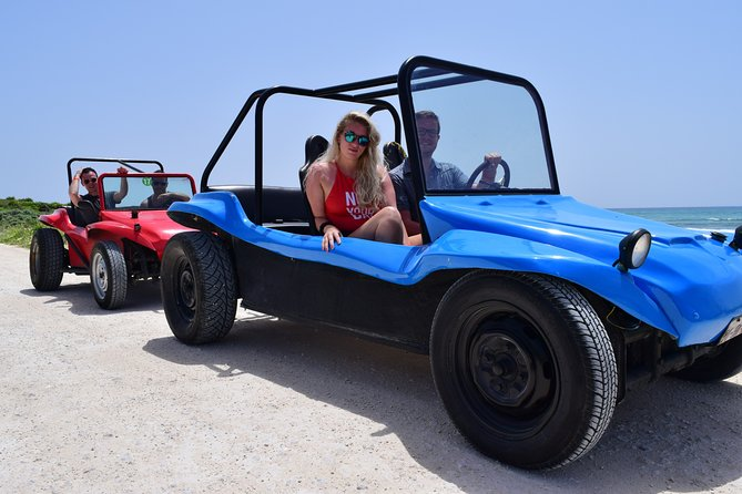 Cozumel by Dune Buggy Adventure Snorkel and Lunch